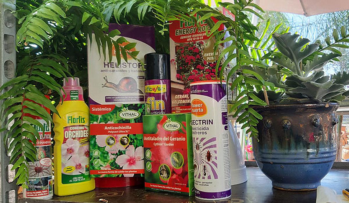 Productos para la sanidad vegetal en tot en Ú