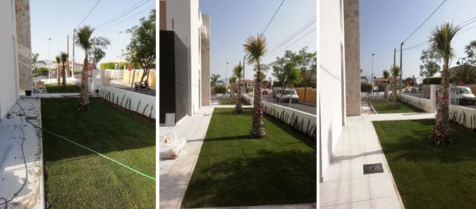 Jardín realizado en Altea por Tot en Ú