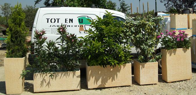 Jardineras para terrazas