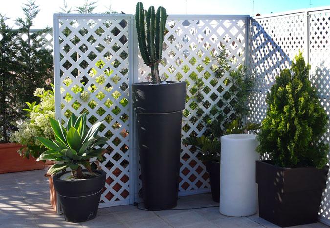 Jardineras y maceteros grandes